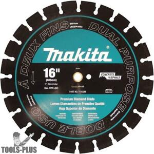 Makita T 01286 16 Segmented Dual Purpose Diamond Blade New