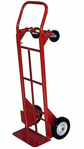 Milwaukee Hand Trucks 40179 Convertible Truck With 8 inch Solid Puncture New