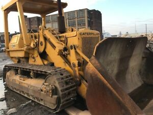 Caterpillar 977l Crawler Track Loader Needs Engine Work As is For Parts Repair