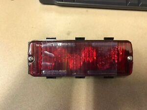 Whelen 500 Series Tir6 Super led Red 50r03zcr New
