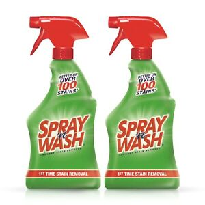 Spray n Wash Pre treat Laundry Stain Remover 22 Oz pack Of 2