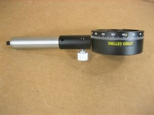 Melles Griot 360 Degree Lens Rotation Stage 2 Od 3 4 Id
