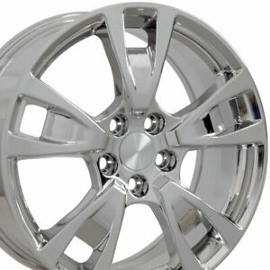 19x8 Chrome Rims Fit Acura Tl Style Wheels Hollander 71788 Set