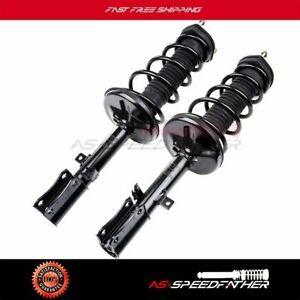 For 2002 2003 Toyota Camry Lexus Es300 Rear 2 Complete Strut Shocks Coil Springs