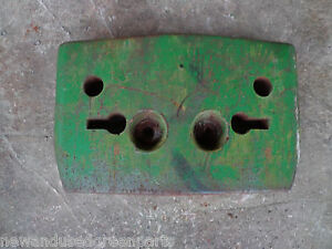 John Deere 1010 T15577t Front Starter Weight Early Part Number