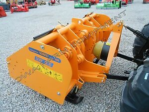 Spader Spading Machine 10 Selvatici Spades 14 Deep W pto Power 3spd Gbox