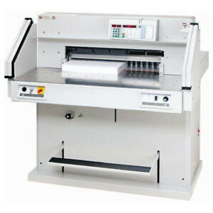 Mbm 721 06 Lt 28 Inch Hydraulic Fully Automatic Programmable Paper Cutter