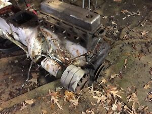 Ferguson Tractor To20 to30 Engine Running Before Disassembly