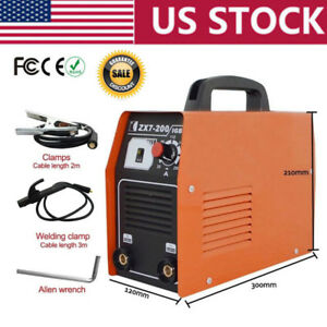 20 200 Amp 220v Stick arc mma Dc Inverter Welder Igbt With Cooling Fan Solding