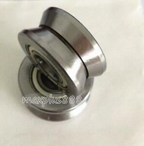 1pcs V Groove Track Roller Guide Vgroove Sealed Ball Bearing 15 38 17mm New