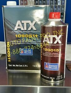 Atx1090511 ats1200151 Sherwin Williams Overall Clearcoat Restoration Auto Paint