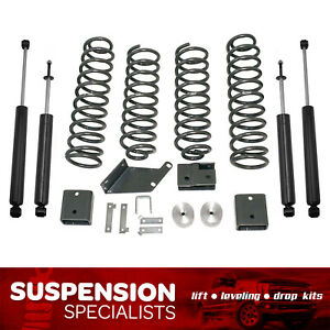 3 Front 3 Rear Lift Kit 2007 2018 Jeep Wrangler Jk coil Springs Shocks