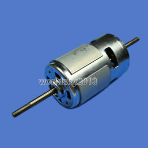 1pcs Dc12 24v 3000 20000rpm Rs775 Double Shaft High Speed Dc Motor For Diy Parts