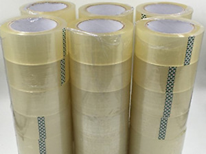 Cg Sealing Packing Tape 2 X 110 Yards 330 Ft 36 Rolls Clear Carton Shipping Bo
