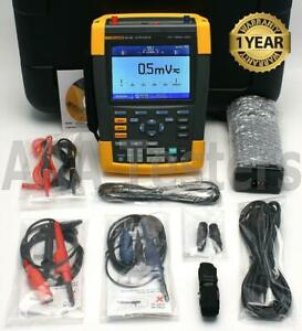 Fluke 190 502 Scopemeter Series Ii 5gs s 2 Channel 500mhz Oscilloscope 190 502