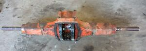 Case Vac 14 Tractor Rearend Assembly Eagle Complete Hitch Mount