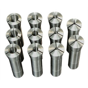 11pc R8 Collet Set From 1 8 To 3 4 For Milling Machine R 8 Free Shipping