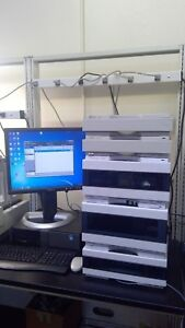 Agilent 1260 Nano Hplc W Bioinert Hip Als Windows 7 Pc Loaded W Chemstation