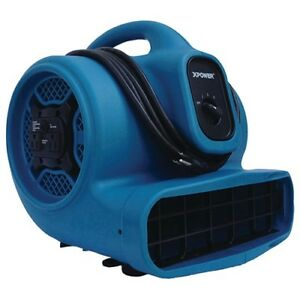 Xpower X 400a Air Mover 1 4 Hp 3 Speed 4 Angle Drying Positions 20 Ft Power Cord