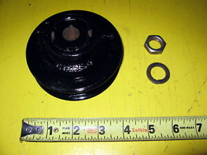 Farmall Generator Pulley 6746d H M Many More Models With Nut And Lock Washer