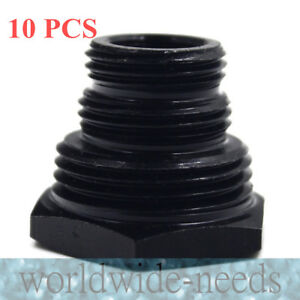 10 Sets Oil Filter Threaded Adapter 1 2 28 To 3 4 16 13 16 16 3 4 Npt New