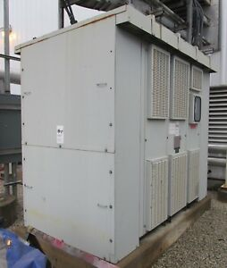 Westing House Out Door Transformer 750 1013 1350 Kva 4160 Hv 480y 277 Lv 2732th