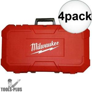 Milwaukee 42 55 2646 Grease Gun Replacement Hard Case 4x New