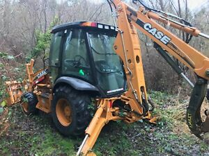 2010 Case 580 Super M Backhoe Like New Only 123 Hours