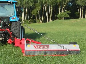 Flail Ditch Bank Mower Shredder Mulcher Ventura Side Trim 221e 93 70 120hp