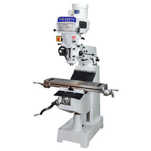 Pm 935tv Vertical Knee Mill Milling Machine Ultra High End Variable Speed 1phase