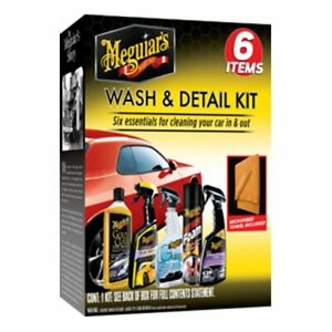 Meguiar s Complete Kit 7 Essentials For Cleaning Your Car