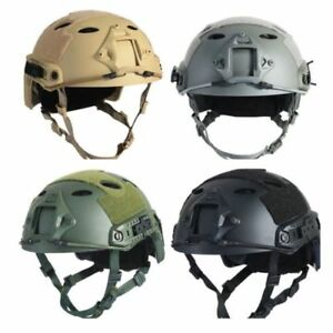 US Protective Multifunction Military Tactical ABS Fast Helmet Airsoft Paintball