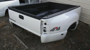 2000 2007 Silverado Sierra 3500 8 Dually Truck Bed 8624 Olympic White