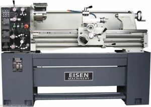 Eisen 1440e 14 X 40 Precision Engine Lathe With Dro Made In Taiwan 220v 3ph