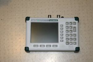 Anritsu Ms2711d Spectrum Analyzer 100khz To 3ghz W Opt 3 21