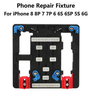 Logic Board Clamps Mobile Phone Repair Pcb Holder For Iphone A7 A8 A9 A10 Chip