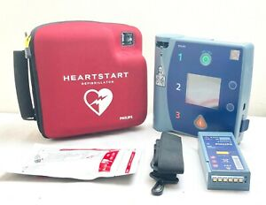 uk Seller Philips Fr2 Heartstart Aed Defib Strong Battery And 2020 New Pads