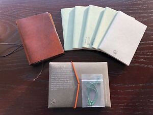 Comb o Italian Leather Traveler s Passport size Cover 3 5x5 W notebooks