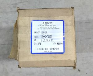 New In Box X ergon Tough one 103 4 1000 10 Lbs Dia 1 8 Welding Rod