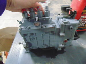 Bobcat S 250 Skid Steer Loader Injection Pump Denso 094500 8590