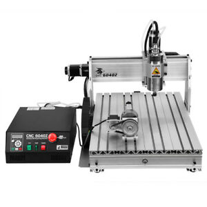 6040 Router 4axis Engraver Usb Cnc Router Engraving Milling Machine 3d Cutter