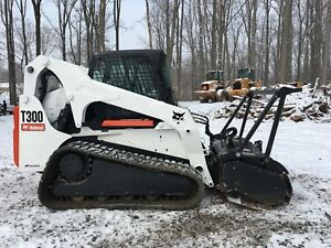Bobcat T300 With Forestry Mulcher