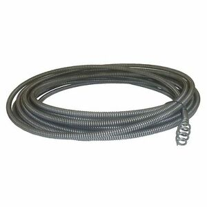 Cable Replacement 1 4 In X 30 Ft Plumbing Drain Auto clean Sink Machines New
