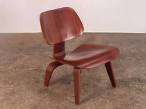 Rare Charles And Ray Eames Pre Production Rosewood Lcw