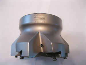 Used Ingersoll 4 Indexable Face Mill Ef6j 04r01 Item 34