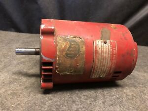 Vintage 1 3 Hp General Electric Motor 3450 Rpm Single Phase 7 6 Amp