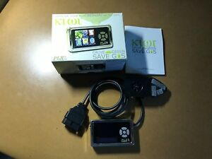Plx Kiwi Obdii Scanner And Fuel Saving Device Drive Green Save Gas Mpg Meter