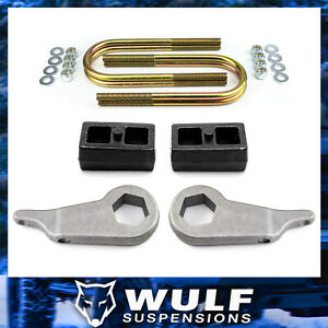 3 Front 2 Rear Leveling Lift Kit W U bolts For 1998 2011 Ford Ranger 2wd 4wd