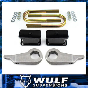 3 Front 3 Rear Leveling Lift Kit W U bolts For 1998 2011 Ford Ranger 2wd 4wd