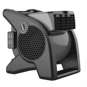 Air King 9555 Portable Blower Fan 120v 350 Cfm gray